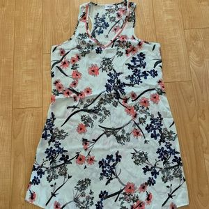 Other - Satin racer back floral nightgown